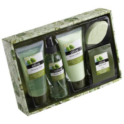 Fürdő szett-olíva