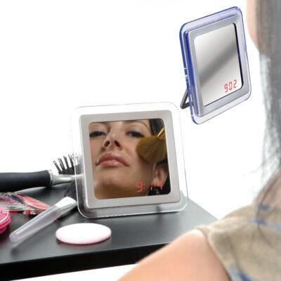 Tükör óra funkcióval