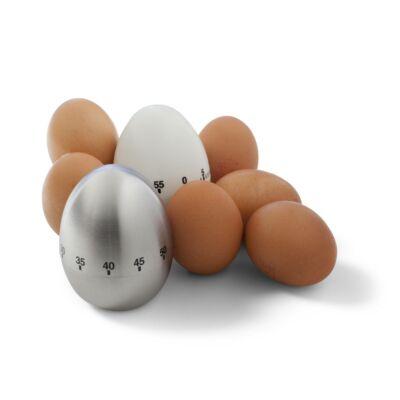 Fehér konyhai időmérő tojás