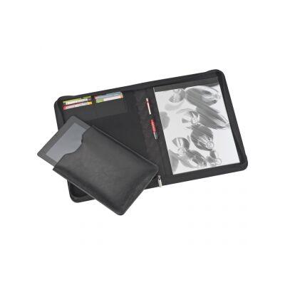 Chrisma A4-es bőr mappa iPad tartóval