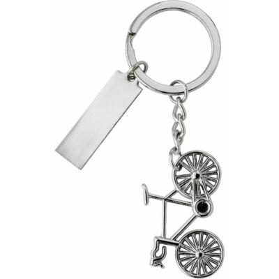 Bicikli fém kulcstartó