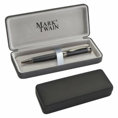 Mark Twain krómozott toll dobozban