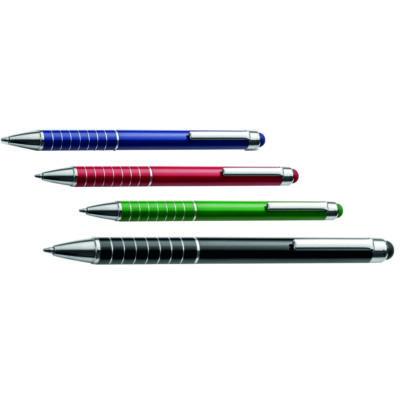 Fém gyűrűs toll érintővel - ballagásra!