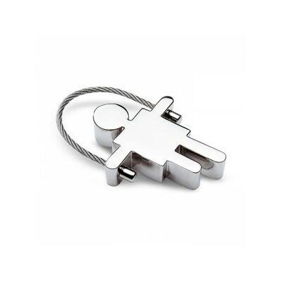 Fiú alakú kulcstartó