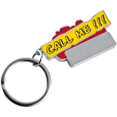 CALL ME feliratú kulcstartó