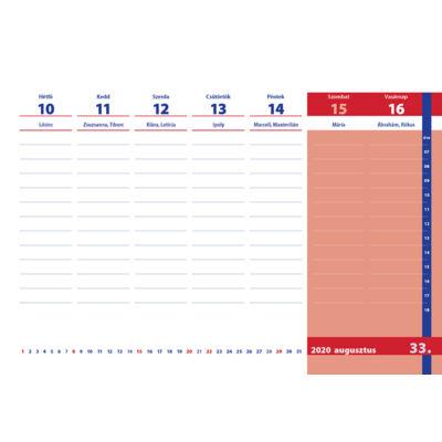 Tanári / Tanítói asztali naptár