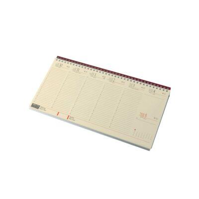 Fekvő asztali naptár chamois