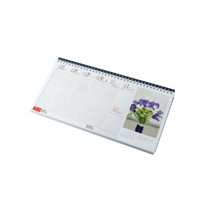 Képes asztali naptár Virágok