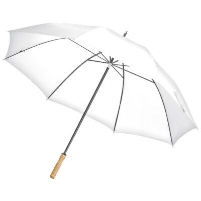 Esküvői fehér esernyő - nagy méretű