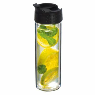 Szűrős üveg ivópalack